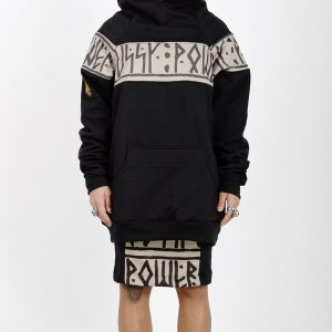 Sudadera original High Neck PussyPower Ochre