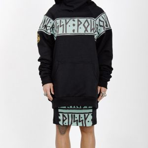 Sudadera original High Neck PussyPower Turquoise