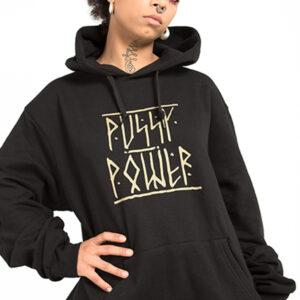 Sudadera Capucha PussyPower frente