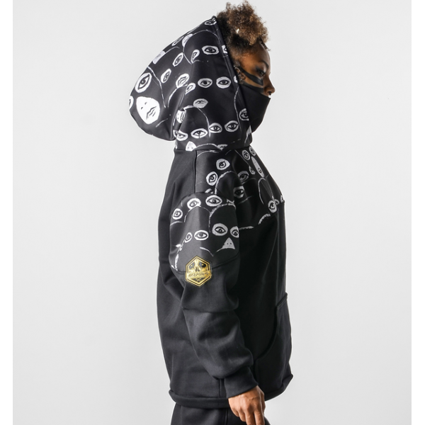 Sudadera con capucha Ojitos2