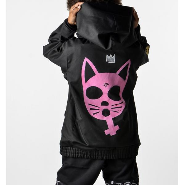 Sudadera con capucha gato1
