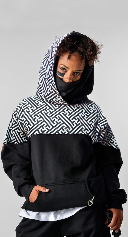 Sudadera con capucha y bandana sayagata 1